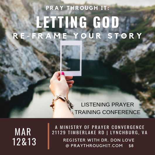 praytrhoughit.com Upcoming VA conference
