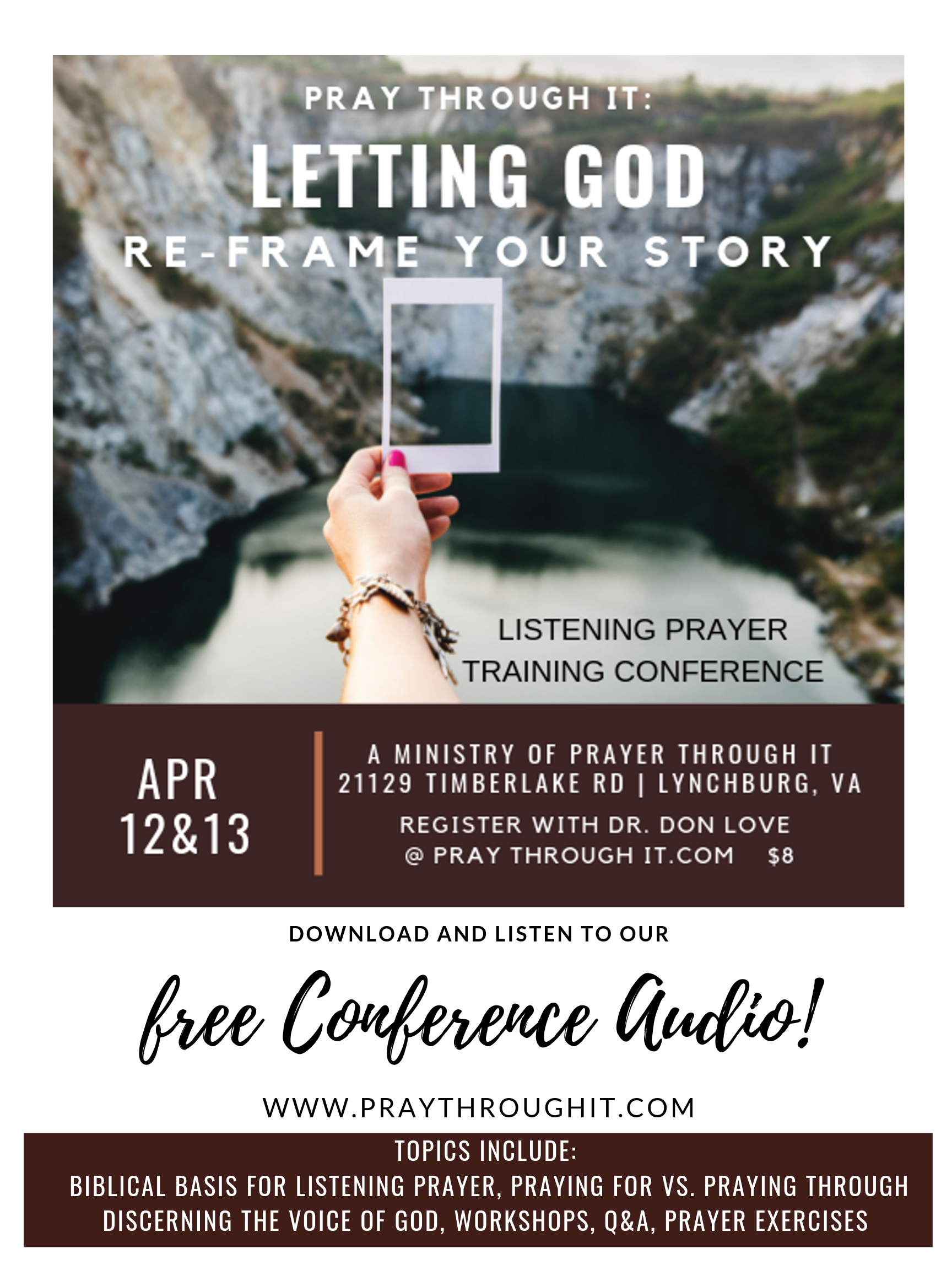 www.praythroughit.com #freeaudio #podcast #listeningprayer